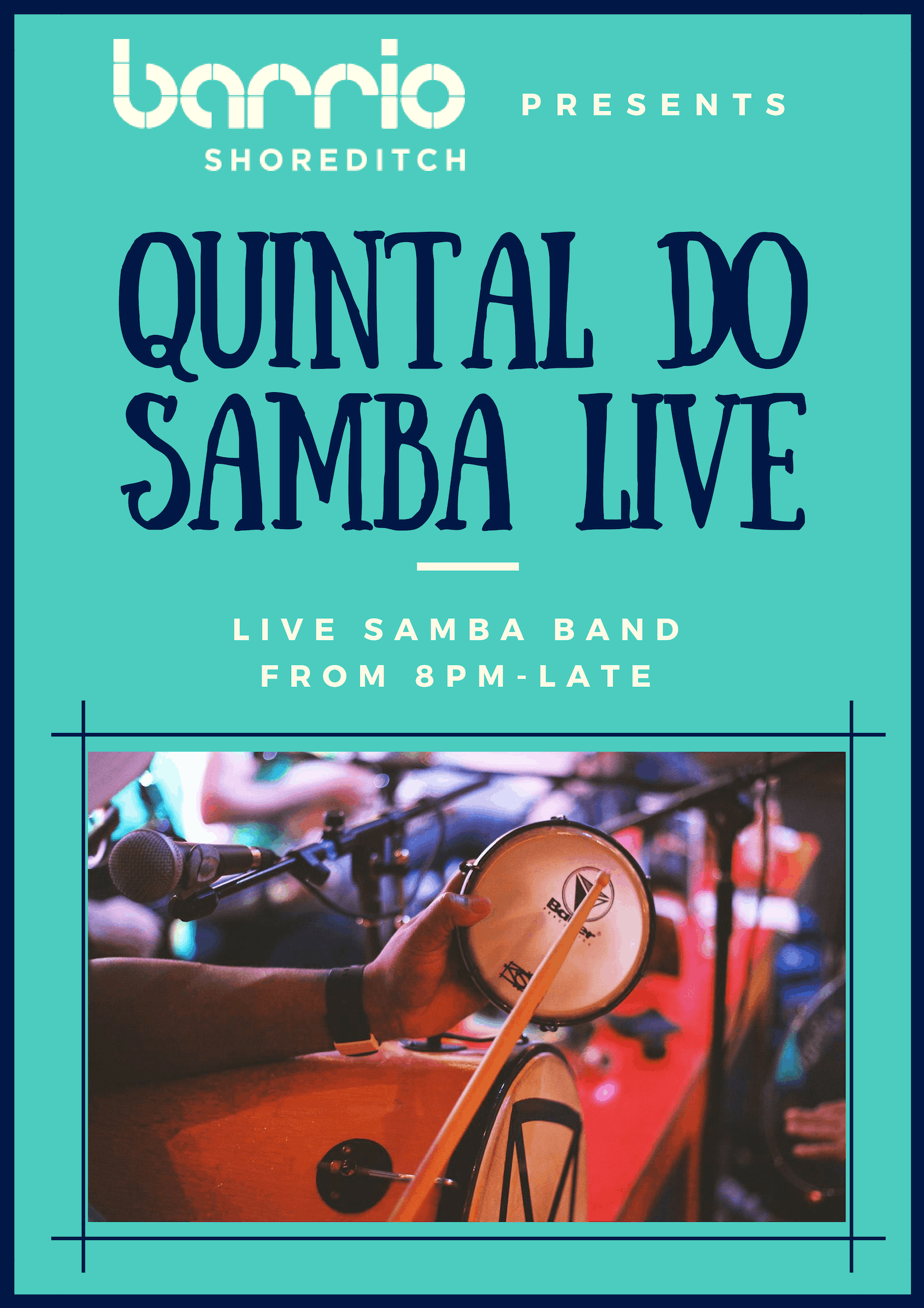 QUINTAL DO SAMBA MONDAYS - LIVE BAND
