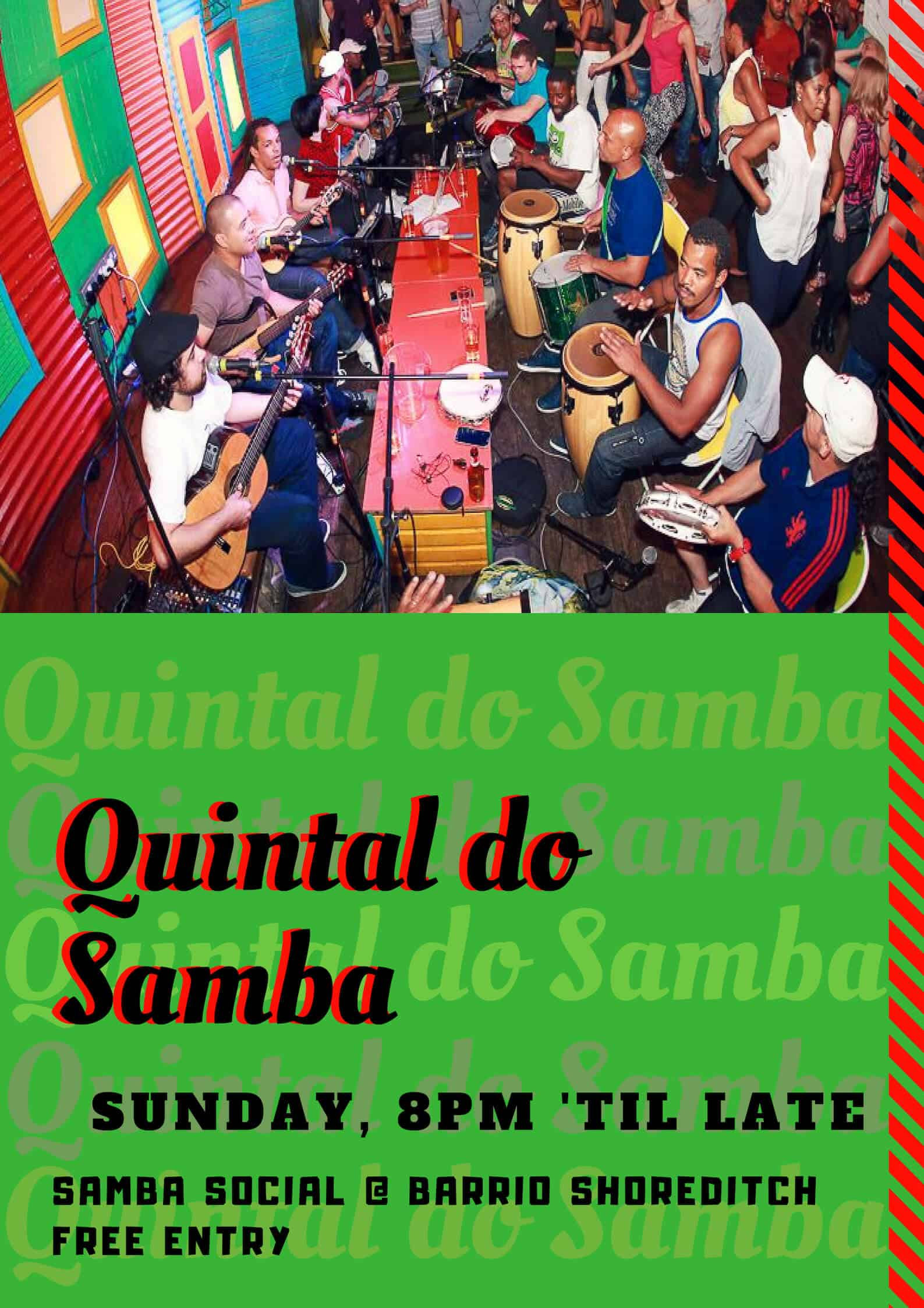 Quintal do Samba - Live Samba Band - Monday Social