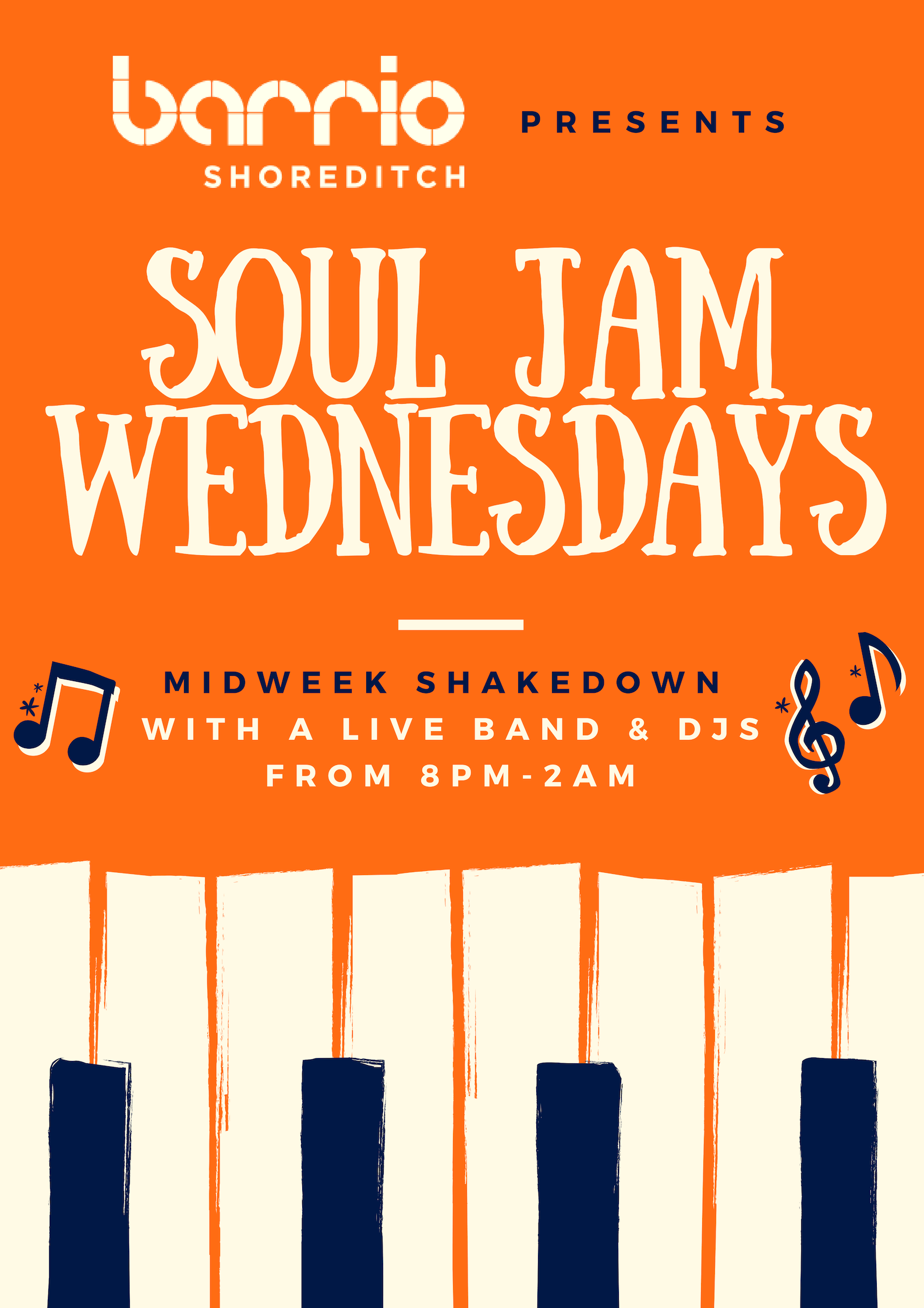 SOUL JAM - Wednesdays at Barrio Shoreditch