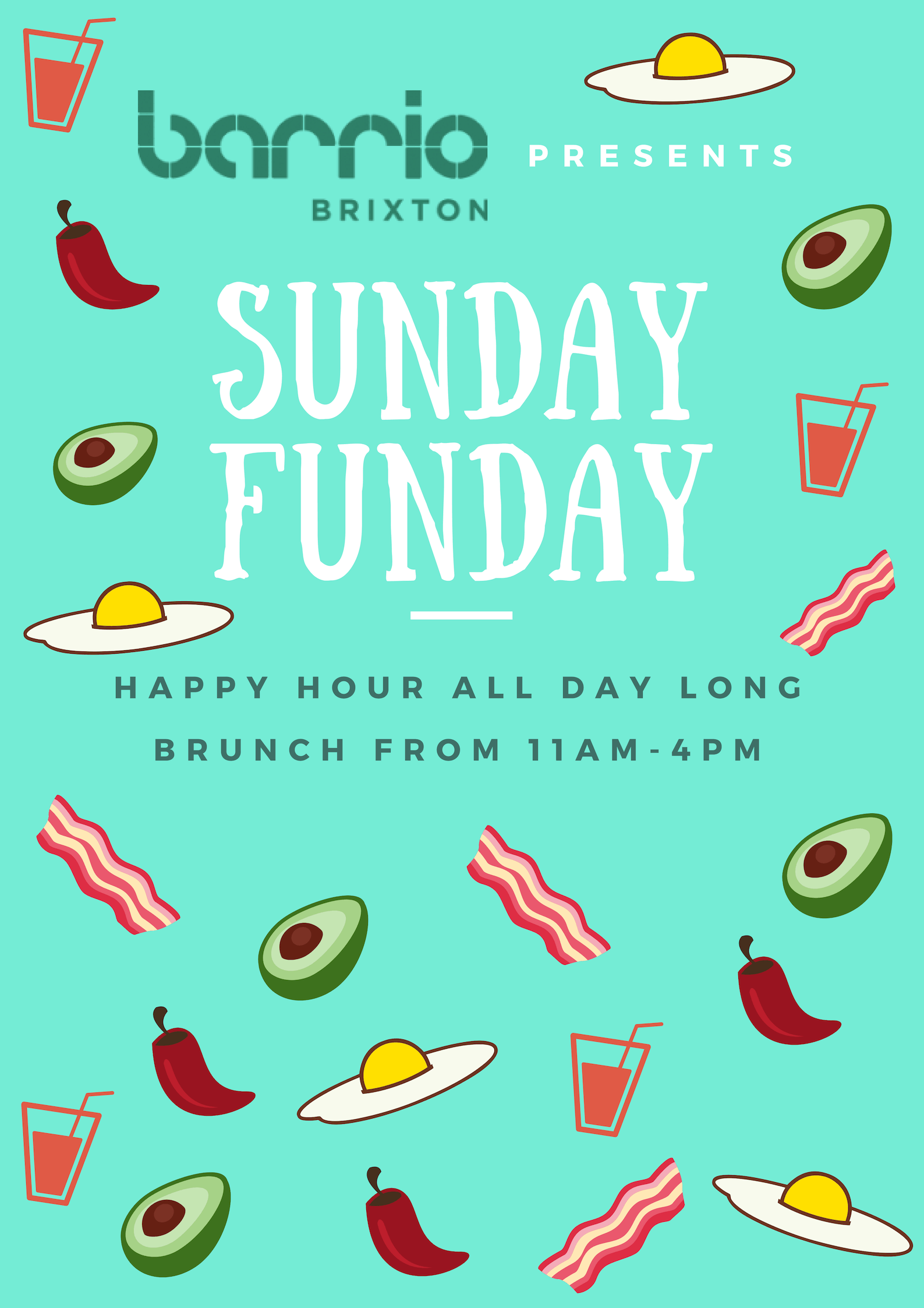 Bottomless Brunch in South London, Brixton