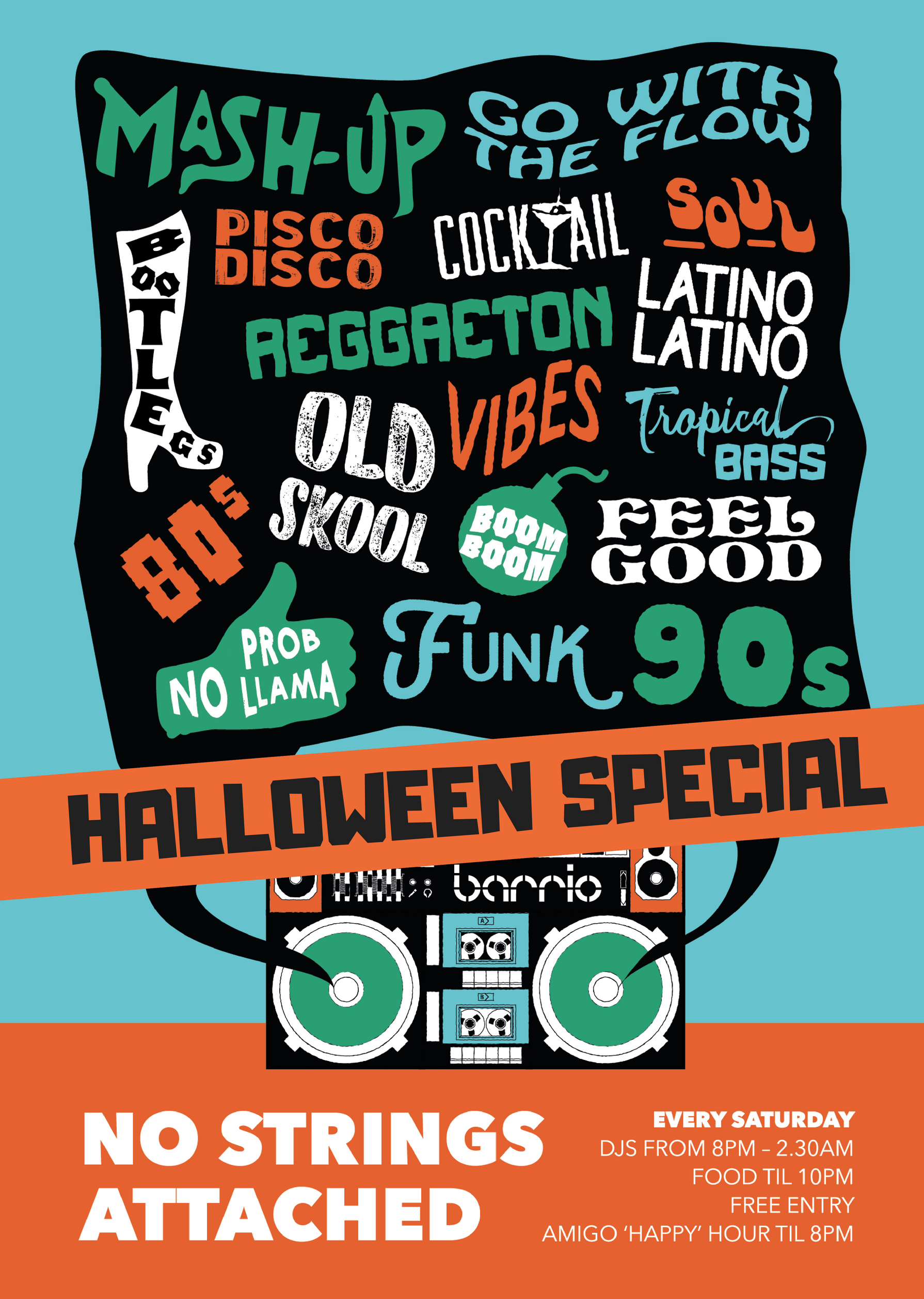 No Strings Attached Halloween Special Brixton